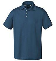 Meru Herren Basic Polo - Polo-Shirt Herren, Dark Blue