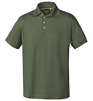 Meru Basic - Polo trekking - uomo, Dark Green