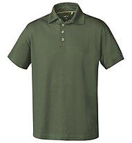 Meru Herren Basic Polo - Polo-Shirt Herren, Dark Green