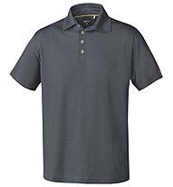 Meru Herren Basic Polo - Polo-Shirt Herren, Grey