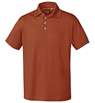 Meru Basic - Polo trekking - uomo, Red
