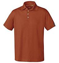 Meru Herren Basic Polo - Polo-Shirt Herren, Red