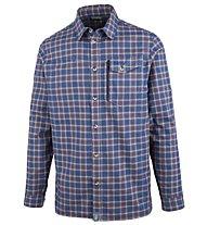 Meru Humansdorp - camicia a maniche lunghe trekking - uomo, Blue