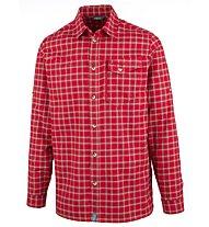 Meru Humansdorp - camicia a maniche lunghe trekking - uomo, Red