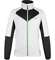 Meru Hybrid - giacca trekking - uomo, White