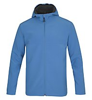 Meru Jacke Men - Wanderjacke mit Kapuze - Herren, Light Blue