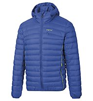 Meru Jk Greater Sudbury M Herren Kapuzenjacke Winter wattiert, Blue