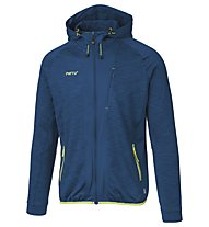 Meru Kitchener Melange - Fleecejacke Wandern - Herren, Dark Blue