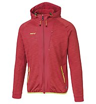 Meru Kitchener Melange - Fleecejacke Wandern - Herren, Red