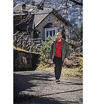Meru Kitchener Melange - Giacca in pile trekking - uomo, Red