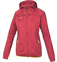 Meru Kitchener Melange - Giacca con cappuccio trekking - donna, Red