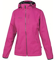 Meru Jk Yellowknife W Damen Softshelljacke mit Kapuze, Red