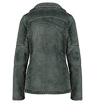 Meru Kaluga High Collar Teddy - giacca in pile - donna, Green