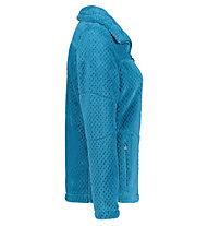 Meru Kaluga High Collar Teddy - giacca in pile - donna, Light Blue