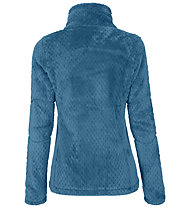 Meru Kaluga High Collar Teddy - giacca in pile - donna, Blue