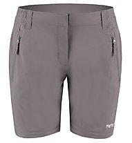 Meru Kaponga Zip-off - pantaloni trekking - donna, Dark Grey