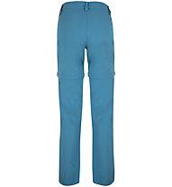 Meru Kaponga Zip-off - pantaloni trekking - donna, Light Blue