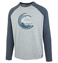 Meru Karlskoga - maglia a manica lunga trekking - uomo, Blue/Grey