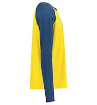 Meru Karlskoga - maglia funzionale - uomo, Blue/Yellow