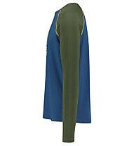 Meru Karlskoga - maglia funzionale - uomo, Dark Green/Blue