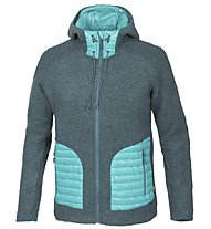 Meru Kaunas Wolljacke Damen, Light Blue