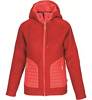 Meru Kaunas Wolljacke Damen, Red