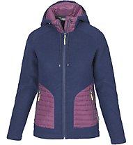 Meru Kaunas giacca lana donna, Blue