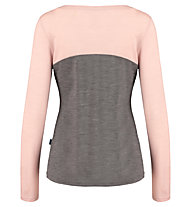Meru Kopervik l/s shirt women - maglia a manica lunga - donna, Brown/Pink
