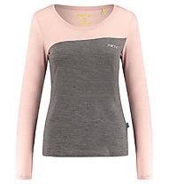 Meru Kopervik - Langarm-Shirt - Damen, Brown/Pink