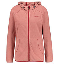 Meru Kristiansand W Striped Fleece - Fleecejacke - Damen, Red