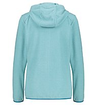 Meru Kristiansand W Striped Fleece - Fleecejacke - Damen, Light Blue