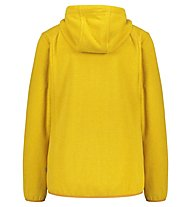 Meru Kristiansand W Striped Fleece - Fleecejacke - Damen, Yellow