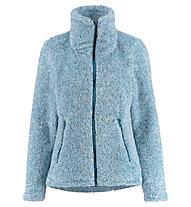 Meru Kurgan - giacca in pile - donna, Blue