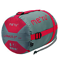 Meru Lanka 0 - Schlafsack, Grey/Red