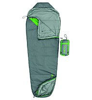 Meru Lanka 6° - Schlafsack, Grey/Green