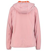 Meru Larvik Windbreaker with furry lining - giacca in pile - donna, Grey/Orange