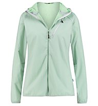 Meru Larvik Windbreaker with furry lining - giacca in pile - donna, Grey/Green