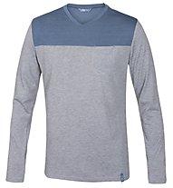Meru Lecce Shirt Langarm, Grey Melange