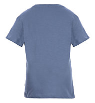 Meru Leeston Slub - T-Shirt trekking - bambino, Light Blue