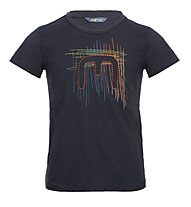 Meru Leeston Slub - T-Shirt Wandern - Kinder, Blue