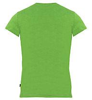 Meru Leeston Slub - T-Shirt trekking - bambino, Green
