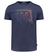 Meru Leeston - T-Shirt tempo libero - uomo, Blue
