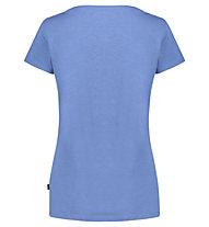 Meru Leeston Slub - T-Shirt Wandern - Damen, Light Blue