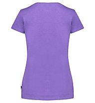 Meru Leeston Slub - T-Shirt Wandern - Damen, Violet