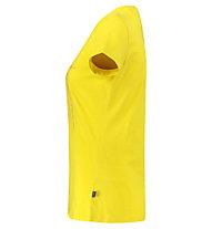 Meru Leeston Slub - T-Shirt Wandern - Damen, Yellow