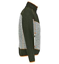 Meru Lerum - Fleecejacke - Herren, Green/Grey/Orange