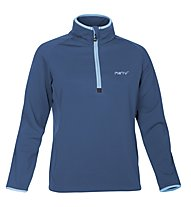 Meru Lim 5 Fleece Pullover Woman Felpa in pile trekking donna, Blue