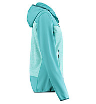 Meru Lyngdal - Fleecejacke mit Kapuze - Damen, Light Blue