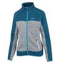 Meru Märsta - giacca in pile trekking - donna, Blue Melange