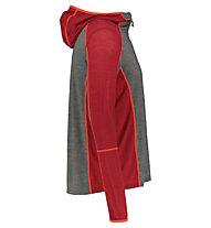 Meru Mandal L/S - Kapuzenpullover - Herren, Red